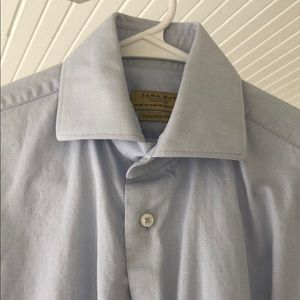 Zara Men's Dress Shirt (Small Size 14 Neck)